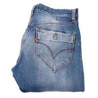 Levi's 506 Gerade Blau Herren Jeans in Größe 32/34