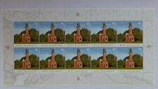 Leuchttürme auf Briefmarken 1 Zehnerbogen Kiel-Holtenau 2017 Mi.-Nr. 3316 neu