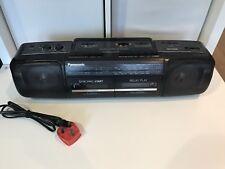Panasonic RX-FT500 Radio Doble Twin Cassette Boombox Vintage Retro ft 500
