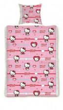 Funda nordica edredón Hello Kitty 140x200 cama 90.Duvet cover.  100% algodon