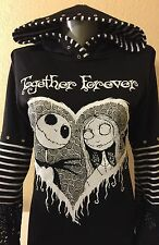 DiY Nightmare Before Christmas Hoodie Disney Jack Goth Regular Size Only