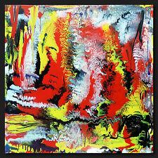 """Thomas visalius: """" silex """" ORIGINALE Tableau acrylique sur la toile pièce unique"""