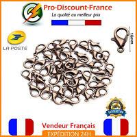 Fermoir Mousqueton chaîne//collier//bracelet argent 925°°°au CHOIX