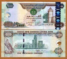 United Arab Emirates, 1000 Dirhams, 2015, P-33d (33), UNC > Braille