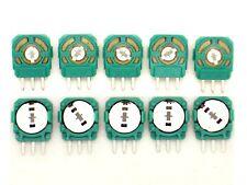 10x Ersatz-Drehwiderstand für PS4 Controller (Analog Stick,Joystick,Poti)W45