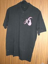 Poloshirt Shirt T-Shirt Oberbekleidung schwarz pink XL - Daniela Katzenberger