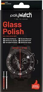 Polywatch Watch Glass Crystal Scratch Repair Remover Polish Kit - Diamond Based