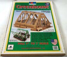 "Radmark Homekits New Home Kits Wood 15"" Doll Garden Mini Greenhouse Kit Set"