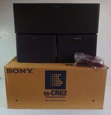 Sony Surround Sound SS CR62 Speaker System CN62 SS-U31 x 2 Japan Original Box