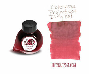 Colorverse Project Ink 004 Dirty Red - 65ml bottle