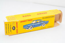 Dinky Toys Boite Vide Renault Floride 543 No Solido No Norev No JRD No CIJ