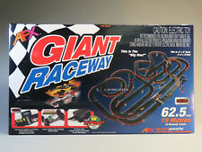 AFX GIANT RACEWAY SLOTCAR SET MEGA G PLUS HO digital lap counter race car 21017