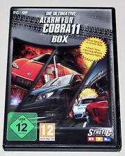 L' ultima allarme per Cobra 11 BOX-PC DVD - 3 giochi Crash Time Burning wheels
