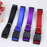 FT- Adjustable Dog Puppies Pet Safety Collar Neck Strap Outdoors Accessories Rap
