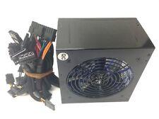 Quiet 700W for Intel AMD PC ATX Power Supply SATA PCI-E 120MM LED Fan Glossy BLK