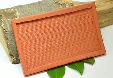 (B002) Moule en silicone pour Mur de moellons avec plat, Piste N