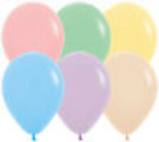 "11"" Betallatex Latex Party Balloons Pastel Colors Helium Grade"