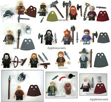 LEGO The Hobbit COMPLETE SET 13 COMPANY OF DWARVES +GANDALF/BILBO Minifigures 15