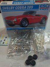 Esci Ertl 1/25 scale model kit...Shelby Cobra 289...unassembled...rare