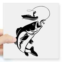 Hot Sale Vinyl Wall Decal Fishing Fisherman Hobby Fish knis Boat Funny Sti G3W7