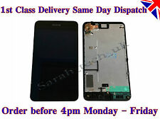 New Nokia Lumia 630 635 Touch Screen Digitizer LCD screen Assembly with frame