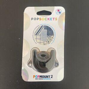 PopSockets PopMounts to Multi-Surface for PopSockets PopGrip - Black - NEW !!!