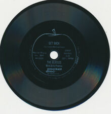 """Beatles VERY RARE LATE 1960s """" GET BACK """" 4"""" FLEXI RECORD"""