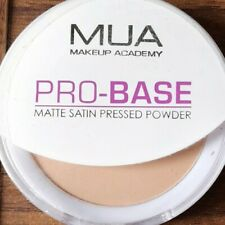 SEALED MUA MAKE UP ACADEMY PRO BASE MATTE SATIN SMOOTH PRESSED POWDER SOFT BEIGE