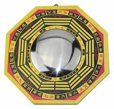"6"" Feng Shui LARGE TRADITIONAL CHINESE CONVEX BAGUA BA GUA MIRROR HOME DECOR ~"