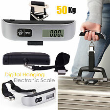 Portable Electronic Digital Weighing Scale Handheld Travel Suitcase Luggage 50kg