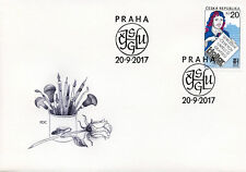 Czech Republic 2017 FDC Hollar Assoc Graphic Artists 1v Cover Art Design Stamps