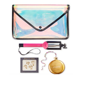 NWP International Concepts 4-PC PARTY KIT Girls Night Out Envelope Clutch & More