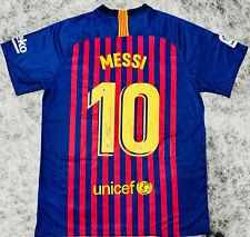 Barcelona Lionel Messi Signed Soccer Jersey Leo Autographed - Beckett BAS COA