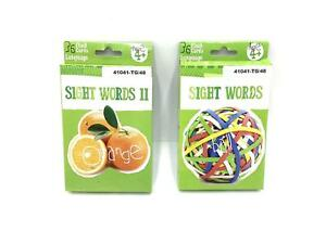 Sight Words 2 Pack 36 Flash Cards language Age 4+ By Bendon