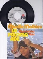 "Mireille Mathieu, La Paloma Ade, VG+/VG++ 7"" Single 0925-6"