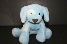 Gund Spunky Blue Dog Baby Stuffed Animal Soft Blue Plush Stuffed Puppy 10 inches