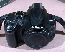 NikonD3000 10.2 MP Digital Camera - Body Only-Good Working Order
