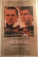 The Bounty Original Movie Poster One-Sheet 1984 Mel Gibson Anthony Hopkins
