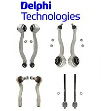 Front Lower & Upper Control Arms with Inner & Outer Tie Rod Ends for Mercedes