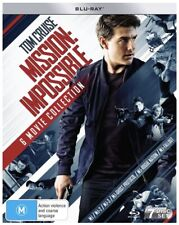 Mission Impossible (Blu-ray, 2018, 7-Disc Set)
