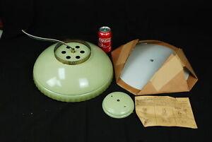 Vintage Thomas Star Light Avocado Green Retro Light Fixture 1960s NOS NEW NIB
