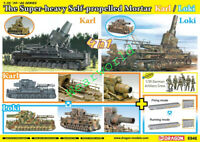 Dragon 6946 1/35 The Super-heavy Self-propelled Mortar Karl/Loki