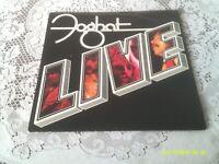FOGHAT. LIVE. BEARSVILLE. BRK 6971. 1977. FIRST US PRESSING.