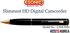Esonic Spy Slimmest HD Digital Camcorder - (MemoQ) CAM-3HD 720P (16GB )