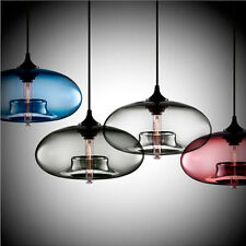 Modern Loft Industrial Bar Cafe Glass Lamp Shade Pendant Ceiling Light 5115U
