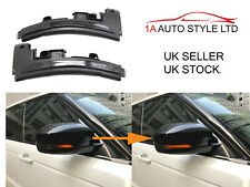 Dynamic smoked flowing LED wing mirror indicators light Range Rover Evoque 11-14