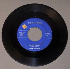 BOBBY BOSTON - Lazy Daisy / I Love You 1963 Star-win 7001 rockabilly 45