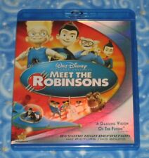 Walt Disney Meet the Robinsons BLU RAY Disc with Case Excellent Condition