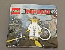 LEGO The Ninjago Movie Master Wu Keychain 5004915 Polybag Set