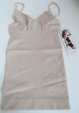 Cass Luxury Shapewear Shaping Tops Invisibellas V-Camisole Nude Size M/L NWT
